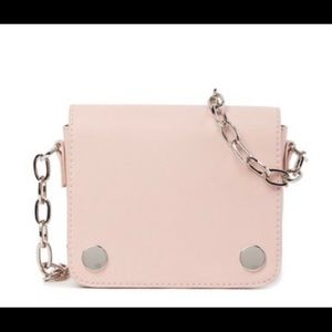 French Connection Blush Pink Crossbody Bag